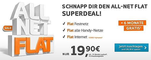 simyo All Net-Flat Angebot
